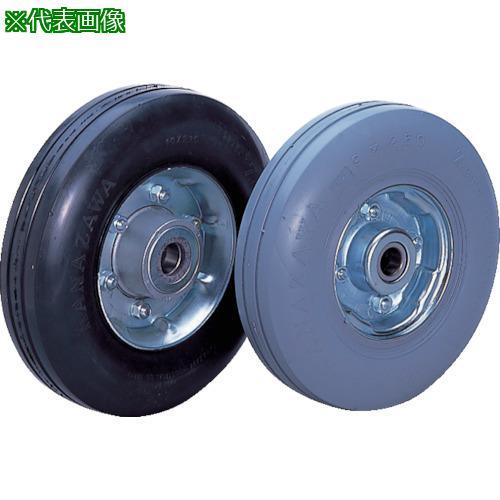 ■カナツー ゼロプレッシャータイヤ 車輪 ハブ付  〔品番:ZP10X2.75MS-BK〕【8287508:0】