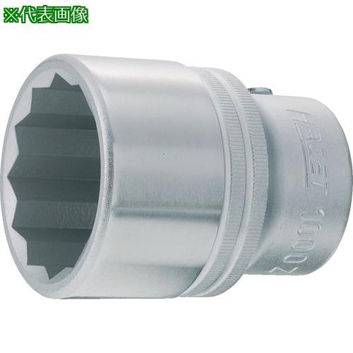 ■HAZET ソケット(12角タイプ・差込角19MM)  1000Z-50 【8288360:0】