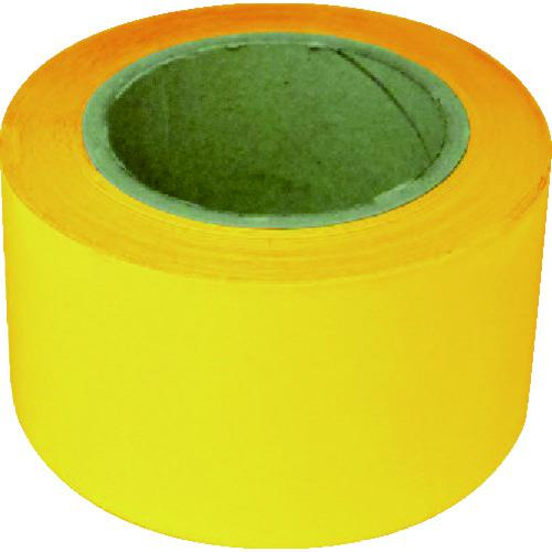 ■新富士 業務用超強力ラインテープ 黄(幅70MM×長さ20M) RM707 【8289258:0】