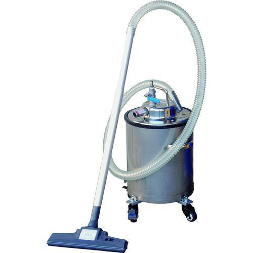 ■アクアシステム エア式乾湿両用ステンレス製掃除機セット(オープンペール缶専用) AVC-550SUS-SET 【8291115:0】