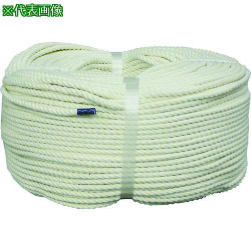 ■ユタカメイク ロープ 綿ロープ巻物 10φ×200m C10-200 (株)ユタカメイク【8291204:0】
