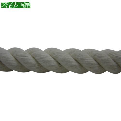 ■ユタカメイク ロープ 綿ロープ巻物 16φ×200m C16-200 (株)ユタカメイク【8291205:0】