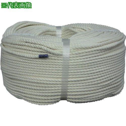 ■ユタカメイク ロープ 綿ロープ巻物 5φ×200m C5-200 (株)ユタカメイク【8291208:0】