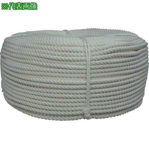 ■ユタカメイク ロープ 綿ロープ巻物 8φ×200m C8-200 (株)ユタカメイク【8291210:0】
