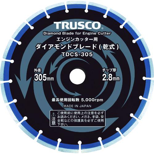 ■TRUSCO ダイヤモンドブレード 305X2.8TX7WX30.5H  TDCS-305 【8291368:0】