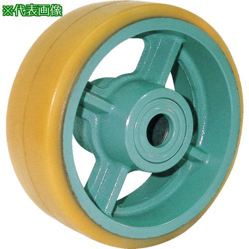 ■ヨドノ 鋳物重荷重用ウレタン車輪ベアリング入 UHB300X100〔品番:UHB300X100〕【TR-8353208:0】