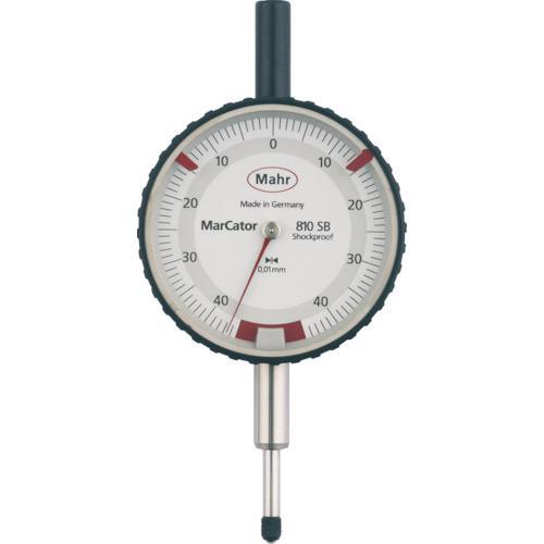■マール ダイヤルインジケーター 限定測定範囲・耐衝撃・防滴タイプ(4317000  810SB 【8353916:0】