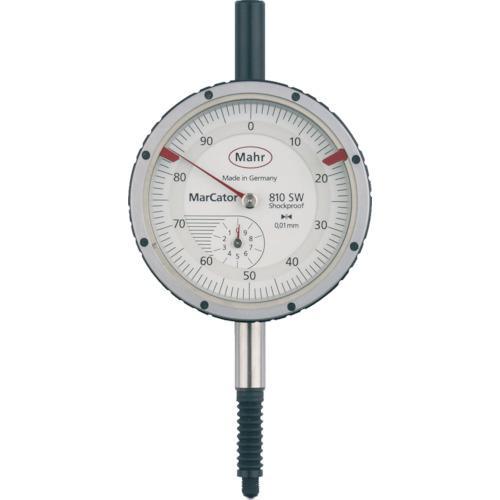 ■マール ダイヤルインジケーター 深さ測定用・耐衝撃・防滴タイプ(4315000) 810SW 【8353918:0】