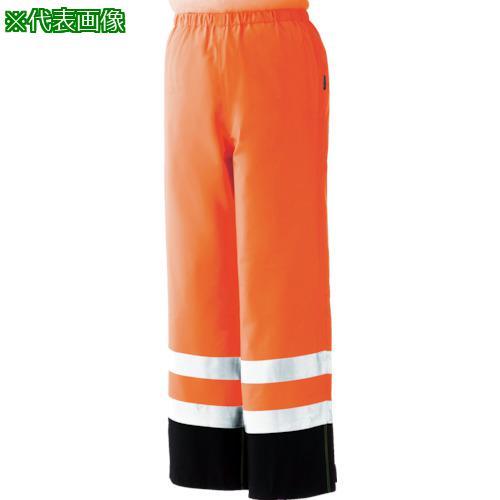 ■ミドリ安全 雨衣 レインベルデN 高視認仕様 下衣 蛍光オレンジ 3L RAINVERDE-N-SITA-OR-3L ミドリ安全(株)【8357367:0】