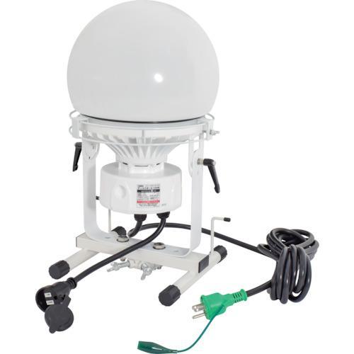 ■日動 連結LED投光器 ディスクボール100W 収納ケース付 L100W-AB-50K-PBOX 日動工業(株)【8357706:0】