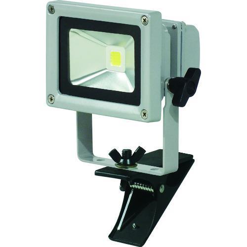 ■日動 LED作業灯 10W クリップ式 LPR-S10C-3M 日動工業(株)【8357709:0】