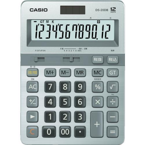 ■カシオ 本格実務電卓 DS-20DB-N カシオ計算機(株)【8362055:0】