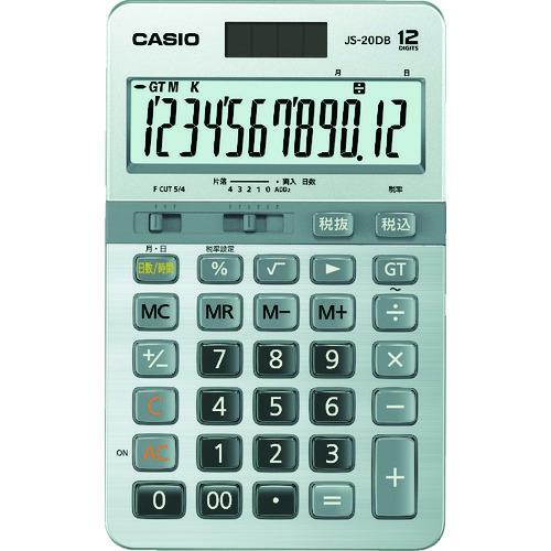 ■カシオ 本格実務電卓 JS-20DB-N カシオ計算機(株)【8362061:0】