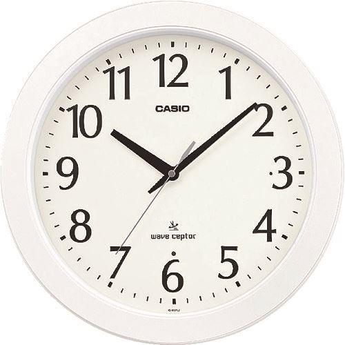 ■カシオ 電波掛け時計 IQ-900FLJ-7JF カシオ計算機(株)【8362063:0】