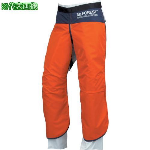 ■マックス Mr.FOREST 防護チャップス オレンジ LLサイズ MT536-OR-LL (株)マックス【8365412:0】