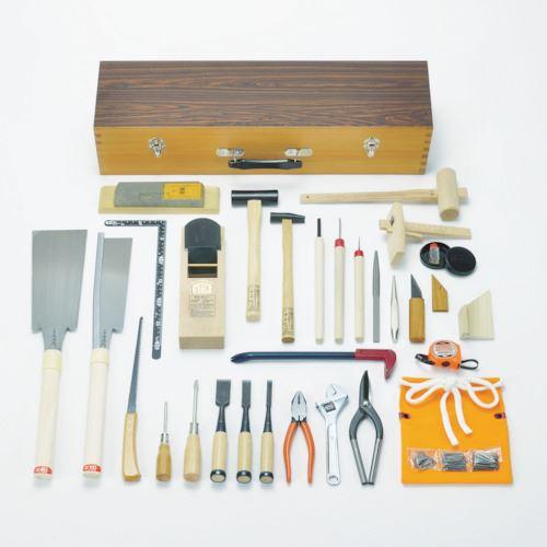 ■KAKURI 木工具セット DK-32 108001 角利産業(株)【8366958:0】