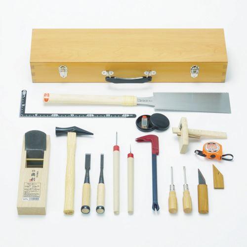 ■KAKURI 木工具セット DK-17 108004 角利産業(株)【8366959:0】