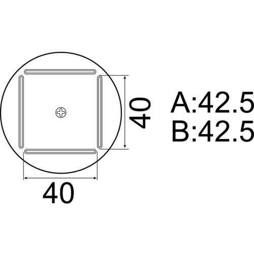 42.5mmX42.5mm〔品番:A1215B〕【8497403:0】[送料別途見積り][法人・事業所限定][掲外取寄] QFP ■白光 ノズル