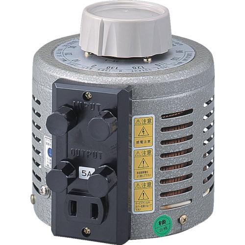 ?山菱 ボルトスライダー据置型 電圧計付 最大電流40A 入力電圧100V 〔品番:S-130-40M〕外直送元【8500555:0】【大型・重量物・個人宅配送不可】