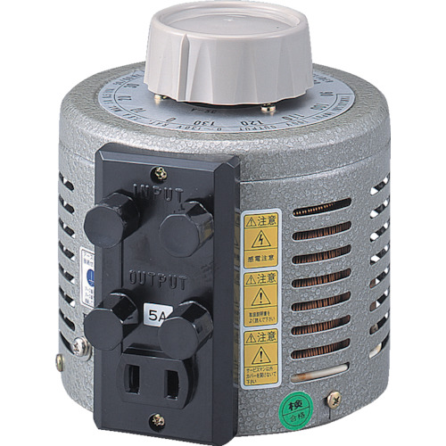 ?山菱 ボルトスライダー据置型 最大電流20A 入力電圧200V 〔品番:S-260-20〕外直送元【8500564:0】【大型・重量物・個人宅配送不可】