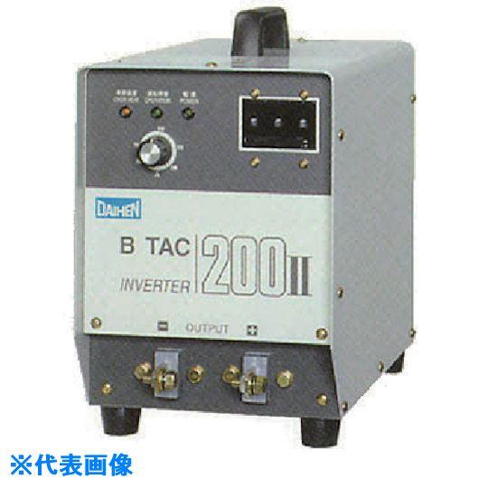 ?ダイヘン 直流アーク溶接機 200アンペア〔品番:B-TAC200-2〕直送元【8512835:0】【個人宅配送不可】