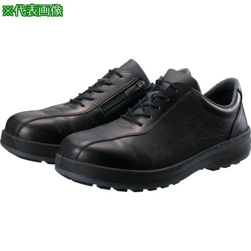 ■シモン 耐滑・軽量3層底安全短靴8512黒C付 26.0cm 8512C-260 (株)シモン【8554798:0】