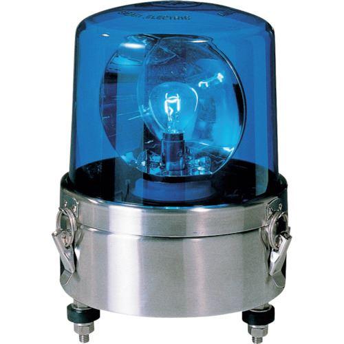 ■パトライト 大型回転灯  〔品番:SKL-120SA-B〕掲外取寄【8568136:0】