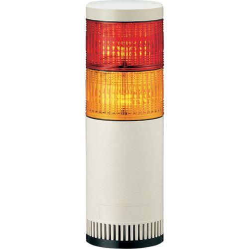■パトライト シグナルタワー LED大型積層信号灯  〔品番:LGE-220FB-RY〕掲外取寄【8568598:0】