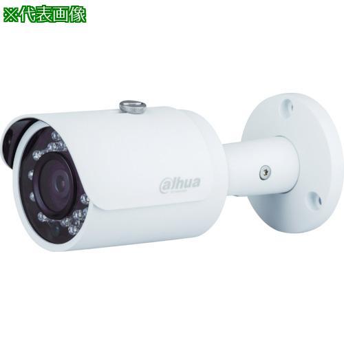 ■Dahua 100万画素 HDCVI 赤外線付防水バレット型カメラ φ90.4×213 ホワイト DH-HAC-HFW1100RN-VF-S3 【8590834:0】