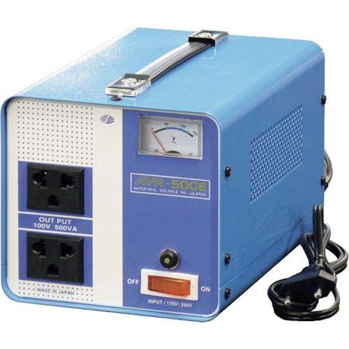 ?スワロー 海外用 交流定電圧電源装置 摺動式 〔品番:AVR-500E〕【8688818:0】[送料別途見積り][法人・事業所限定][掲外取寄]