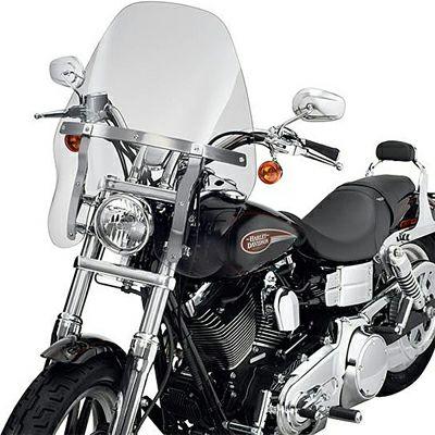祝日 Harley Davidson ハーレー ダビッドソン 中古 純正 ウインドシールド ライトスモーク 57016-06 ツーリング 返品交換不可 デタッチャブル