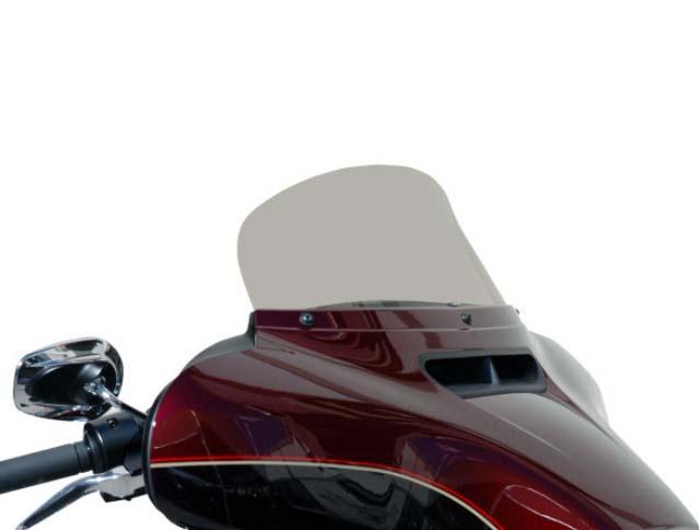 Wind Vest ウインドシールド 178mm(7インチ) ライトスモーク