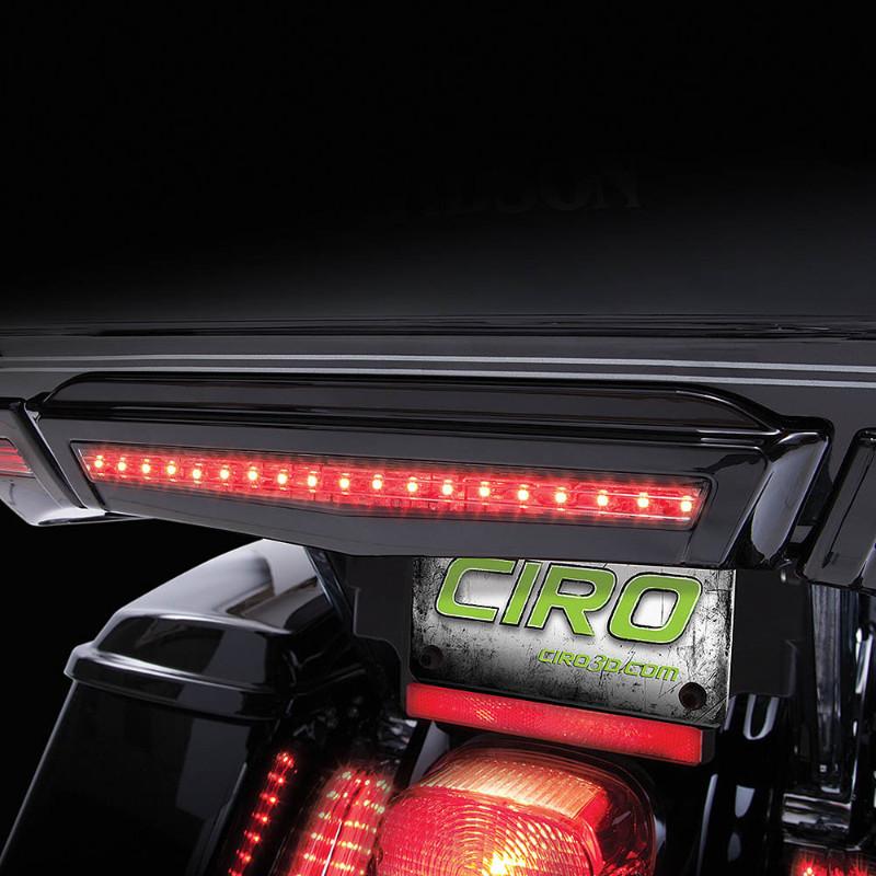 【CIRO】 ツアーパック センターブレーキライト ブラック 2014~2020ツーリングモデル(ツアーパック装着車)、トライグライド C40005