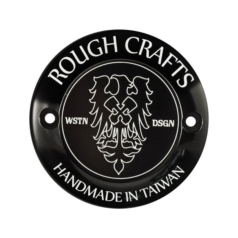 ROUGH CRAFTS ポイントカバー 2HOLES/ブラック