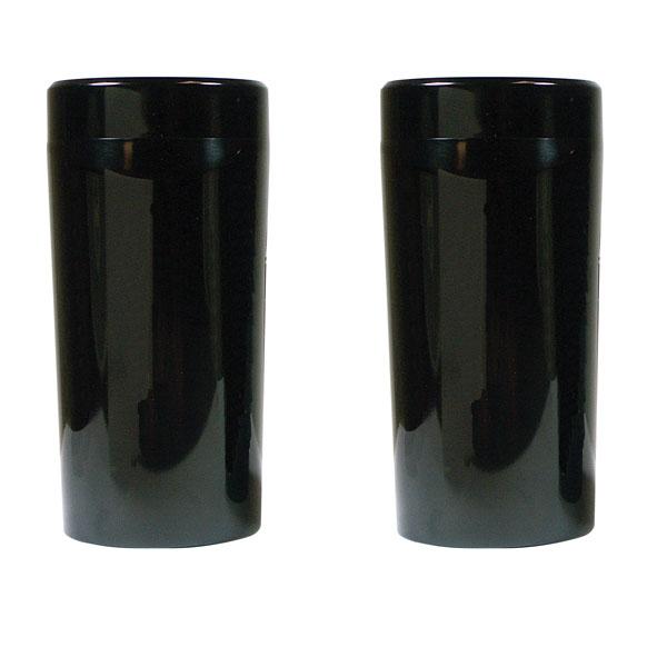 V-Factor Solid ビレット フォークスライダーカバー ブラック