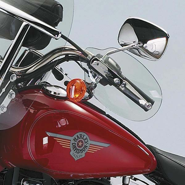【ナショナル サイクル】 ハンドルバーマウント・ウインドデフレクター ソフテイル&ツアラー用 N5541