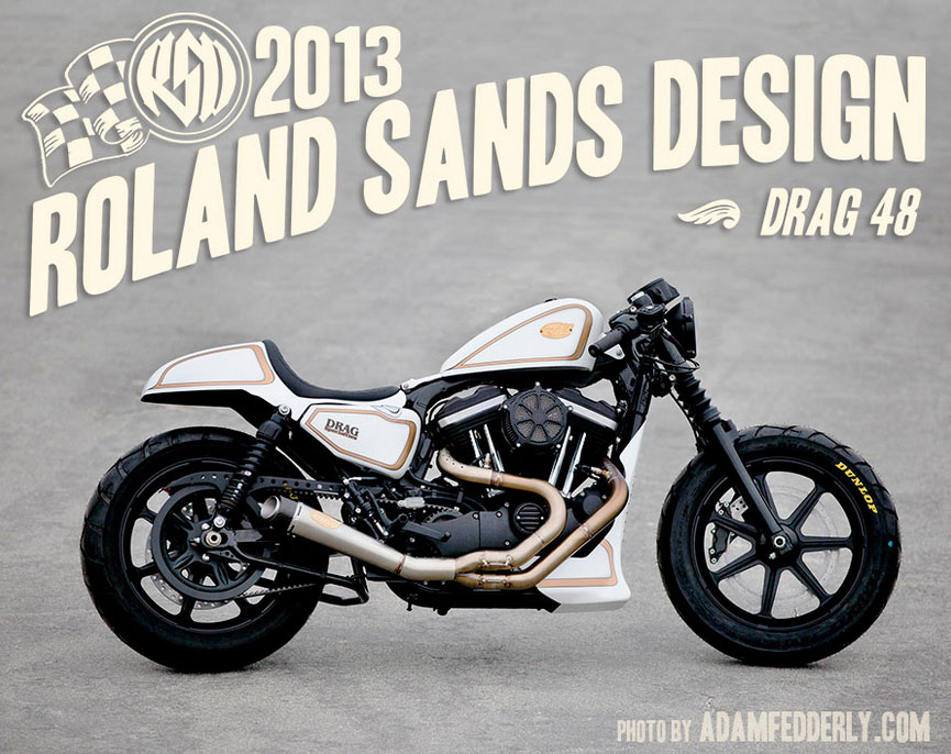 【Roland Sands Design】CAFE TAIL SECTION用 シート