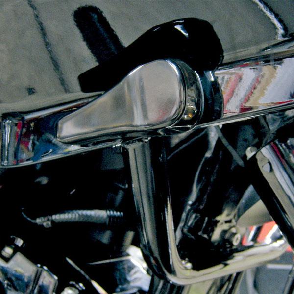 [宅送] カスタム FLTR用 LEDウインカー LEDウインカー ブラック FLTR用 スムースデザイン ブラック, 御嵩町:73a3d6ee --- rki5.xyz