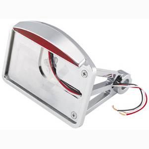 BikersChoince LED ライセンスプレート フレームマウント 横ナンバー