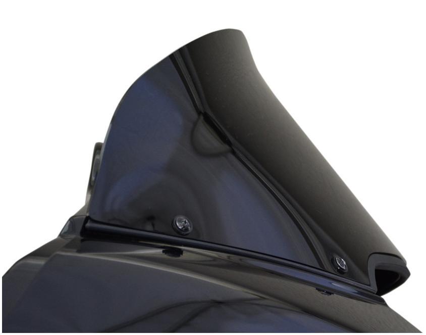 Wind Vest ウインドシールド 228mm(9インチ) ブラック 2015~2020 FLTRX/S、FLTRU/SE