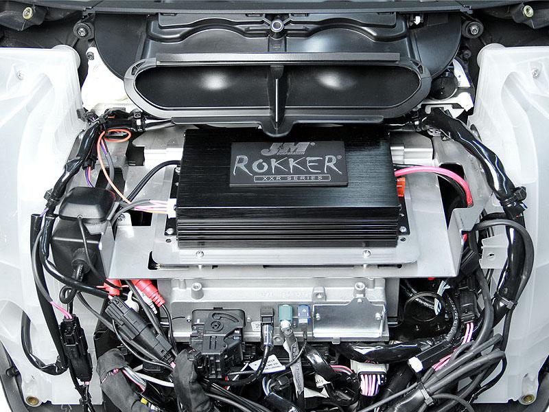 J&M ROKKER シリーズ 330w 2chアンプ インストールキット 2014以降 FLHT/X用