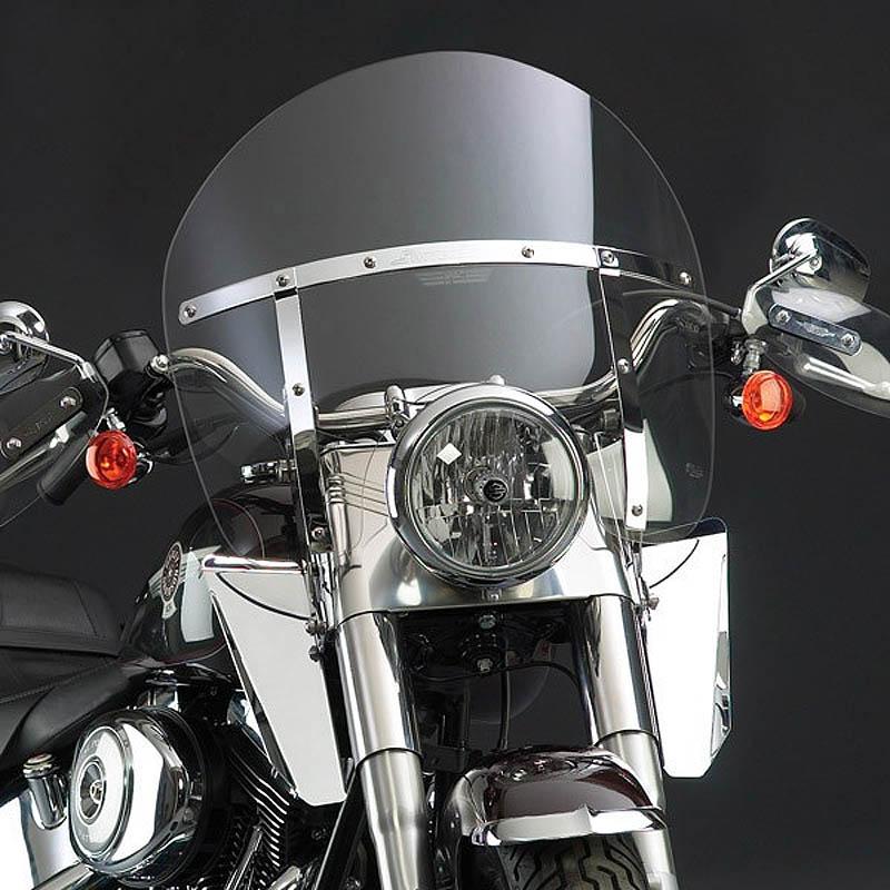 【ナショナル サイクル】 スイッチブレード Chopped ウインドシールド クリアー FLソフテイル N21427A