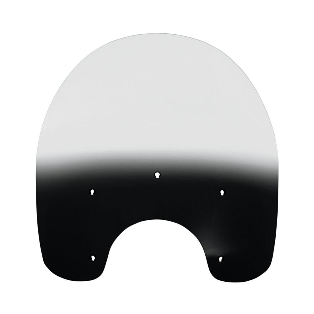 【メンフィスシェード】 ノスタルジック・デタッチャブル・キングサイズ・ウインドシールド用 交換シールド 17インチ ブラックグラデーション MEP6271