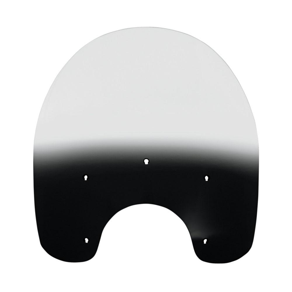 【メンフィスシェード】 ノスタルジック・デタッチャブル・キングサイズ・ウインドシールド用 交換シールド 19インチ ブラックグラデーション MEP6371