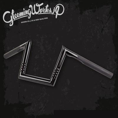 【GLEAMING WORKS】アングルハンガー リップル ブラック