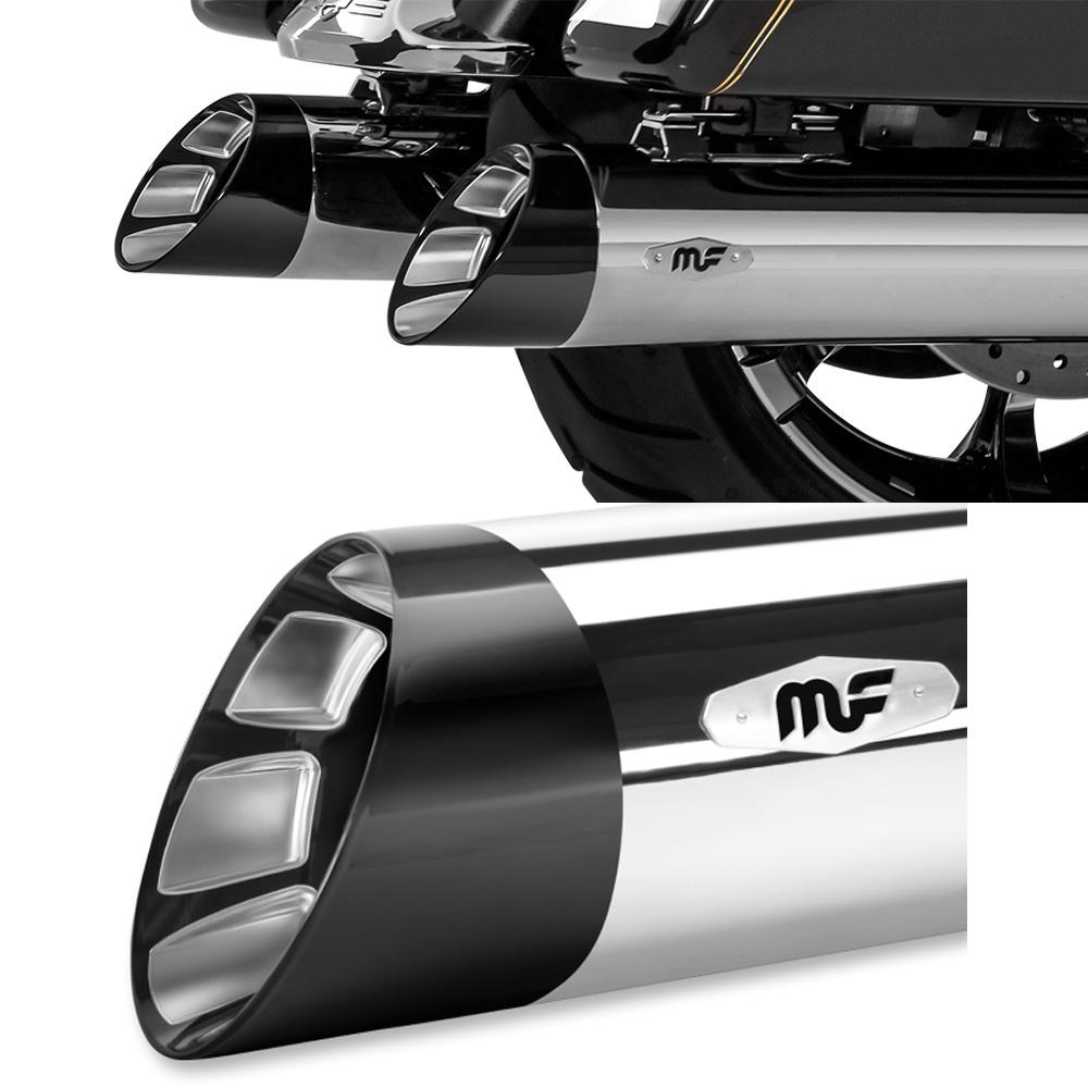 【マグナフロー】 HITMAN 4.5インチ クローム/ブラック 7200805