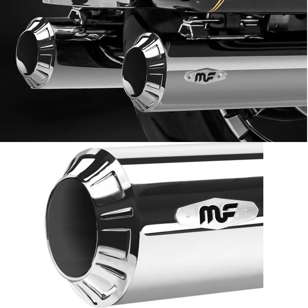 Magnaflow RIOT 4インチ MUFFLERS クローム