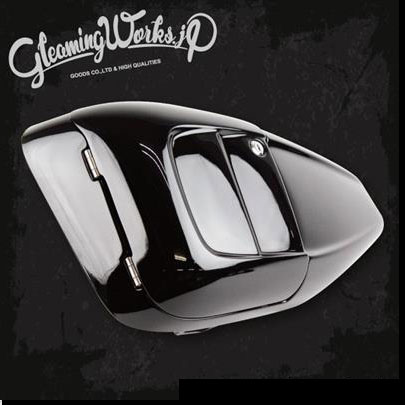 【GLEAMING WORKS】ETCビルトイン・サイドカバー XL