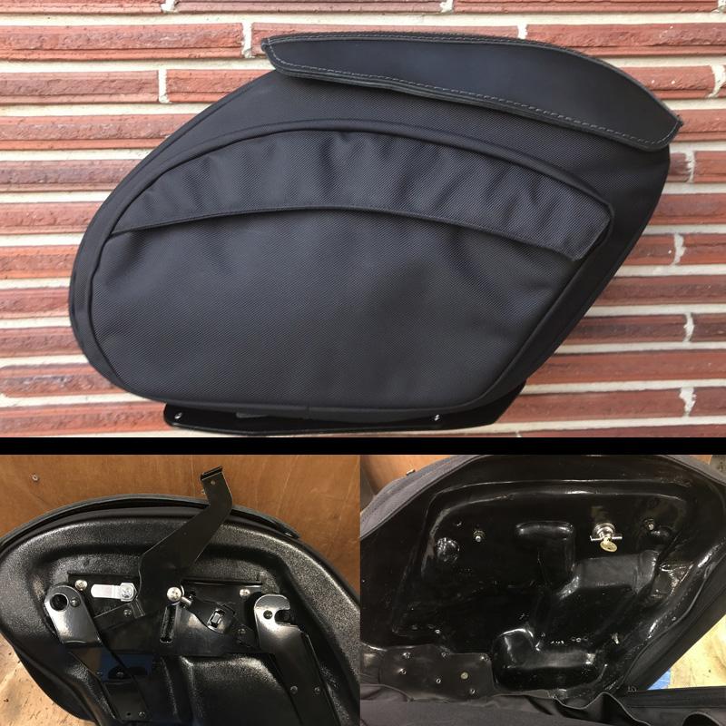 【Leather Pros】レトロV2 ナイロンサドルバッグ ダイナ