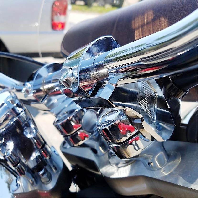 【Rox Speed】パトリオットシリーズ ピボットライザー 2インチ クローム